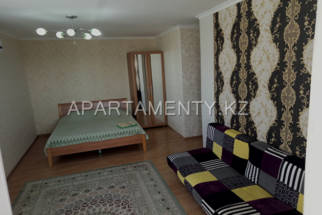 1-room apartment for daily rent in Aktau