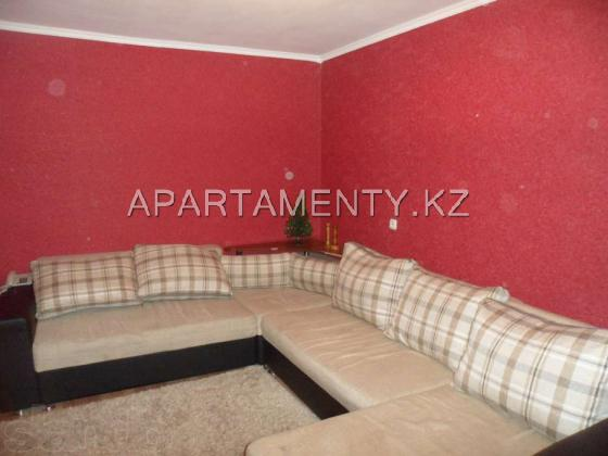 2-room apartment for daily rent, ul. ermekova 62