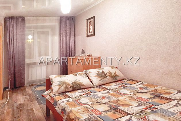 2-room apartment for daily rent, ul. Auezova