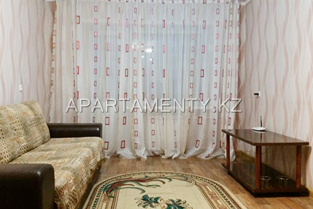 2-room apartment for a day, Karaganda
