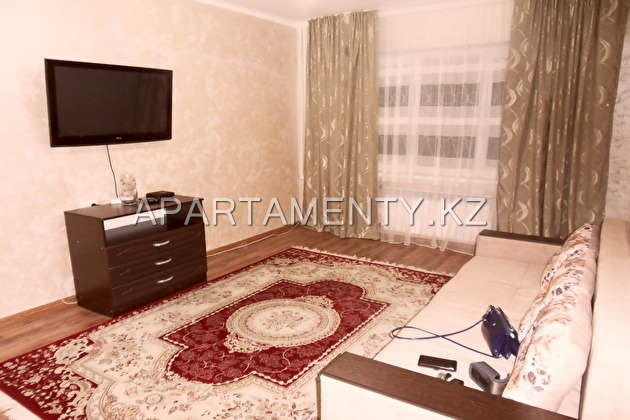 2-roomed apartment for daily rent, Almaty