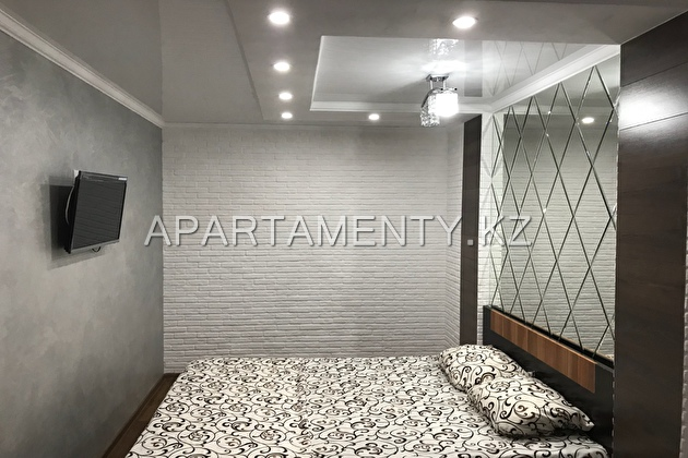1-roomed apartment by the day in Karaganda