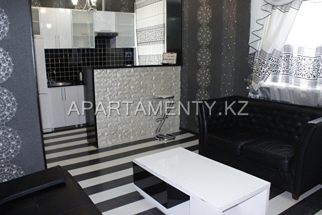 2-room apartments in the center of Karagand