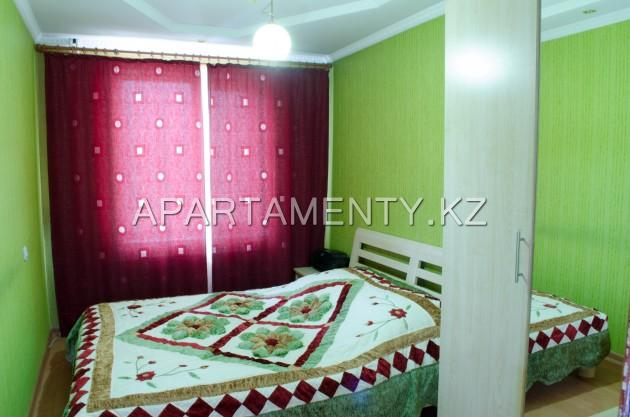 2-room apartment for daily rent in Karaganda